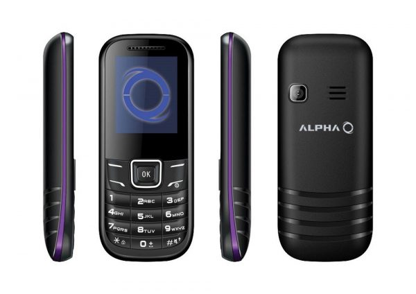 Alpha D1 Dual Sim (Purple)