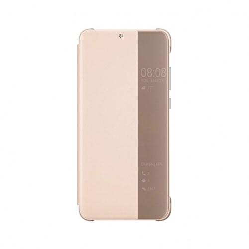 Huawei P20 Lite originalna futrola na preklop (Rose)
