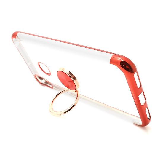 Huawei Y6 2019 Magnetic Ring silikonska futrola (Red)