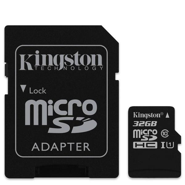 KINGSTON Micro SD 32GB Class 10+adapter