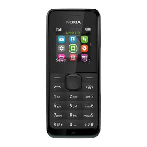 Nokia 105 Dual Sim (Black)