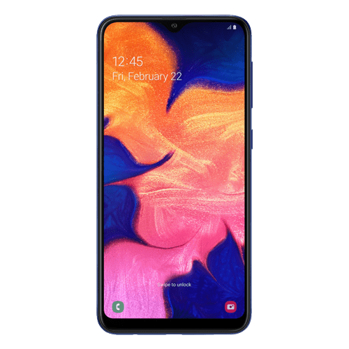 SAMSUNG Galaxy A10 Dual Sim (Blue)