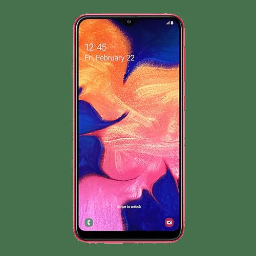 SAMSUNG Galaxy A10 Dual Sim (Red)
