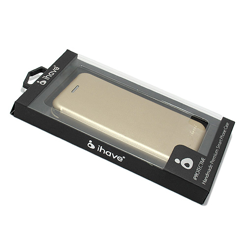 Samsung Galaxy J5 J500 Ihave futrola na preklop (Gold)