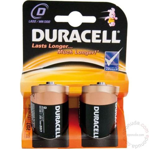 DURACELL D LR20 alkalna baterija