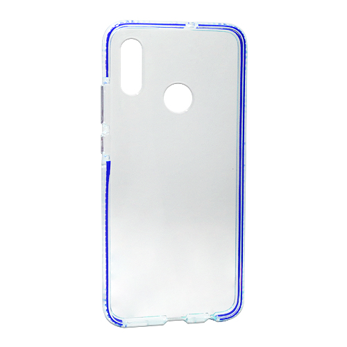 Honor 10 Lite Color frame silikonska futrola (Blue)