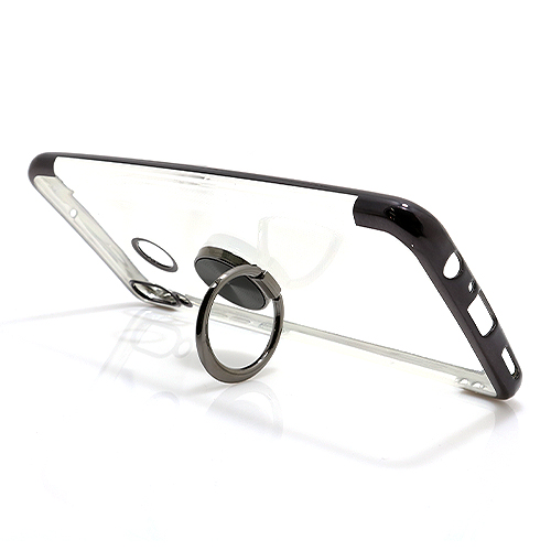 Honor 10 Lite Magnetic Ring silikonska futrola (Black)