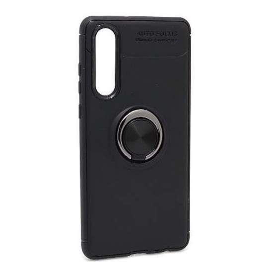 Huawei P30 Elegant Ring futrola (Black)