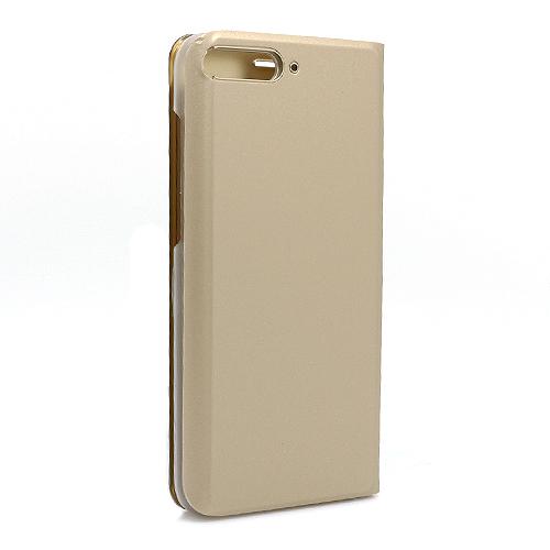 Huawei Y6 2018 Clear view futrola (Gold)