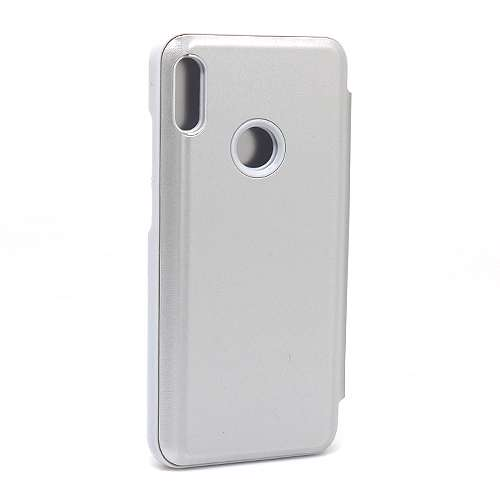 Huawei Y6 2019 Clear view futrola (Silver)