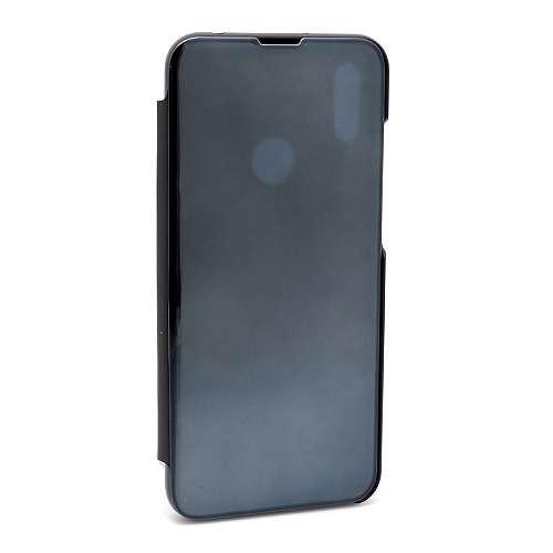 Huawei Y6 2019 Clear view futrola (Black)