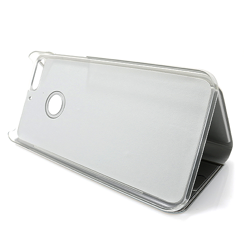 Huawei Y7 2018 Clear view futrola (Silver)