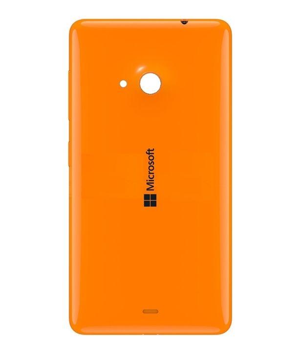 Microsoft Lumia 535 poklopac baterije (Orange)