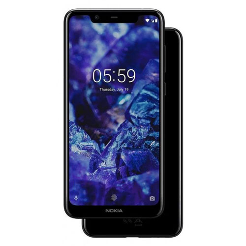 NOKIA 5.1 Plus Dual Sim (Black)