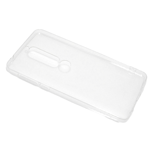 Nokia 6.1 silikonska futrola (Transparent)