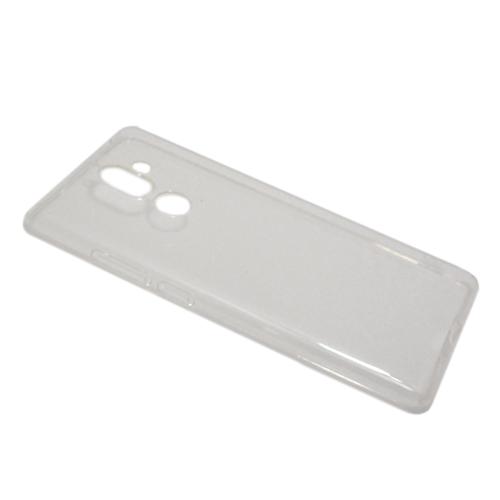 Nokia 7 Plus silikonska futrola (Transparent)
