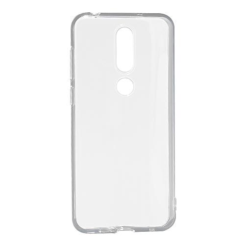 Nokia X6 2018 silikonska futrola (Transparent)