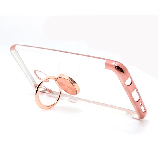 Samsung A20E Magnetic Ring silikonska futrola (Rose)