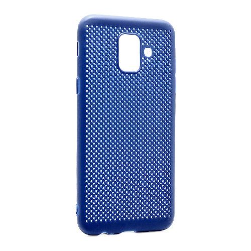 Samsung A6 A600 Breath silikonska futrola (Blue)