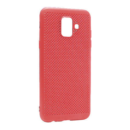 Samsung A6 A600 Breath silikonska futrola (Red)