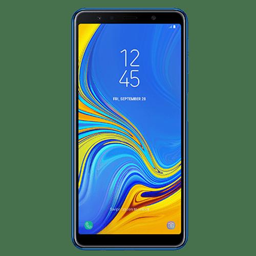 SAMSUNG A7 2018 Dual Sim (Blue)