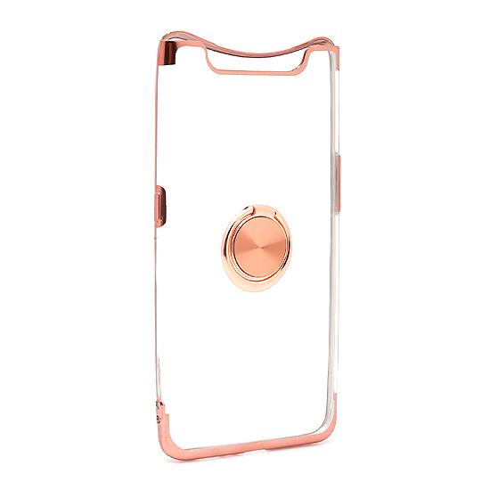 Samsung A80 Magnetic Ring silikonska futrola (Rose)