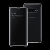 Samsung S10 Plus Clear View futrola (Black)