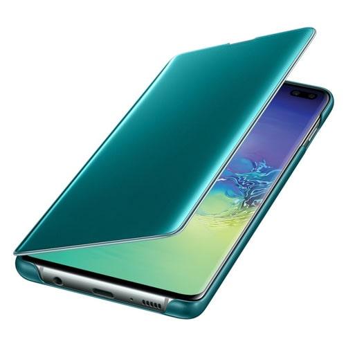 Samsung S10 Plus Clear View futrola (Green)