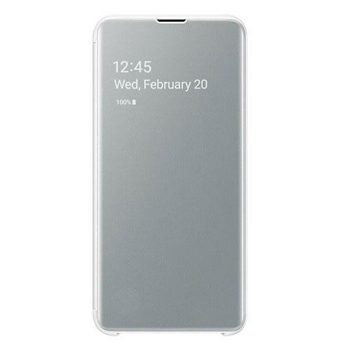 Samsung S10E Clear View futrola (White)