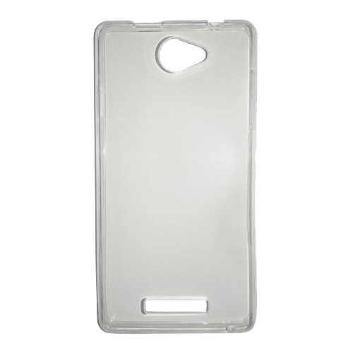 Vivax S10 Fun silikonska futrola (Transparent)