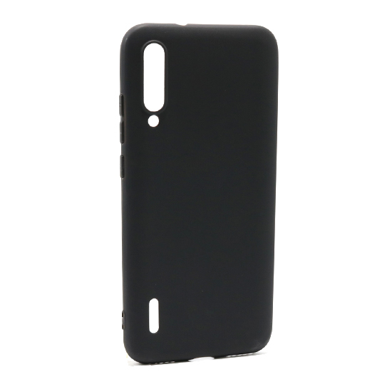 Xiaomi Mi A3 ultra tanka kolor silikonska futrola (Black)