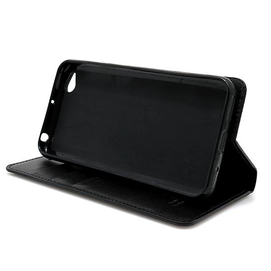 Xiaomi Redmi Go Hanman futrola na preklop (Black)