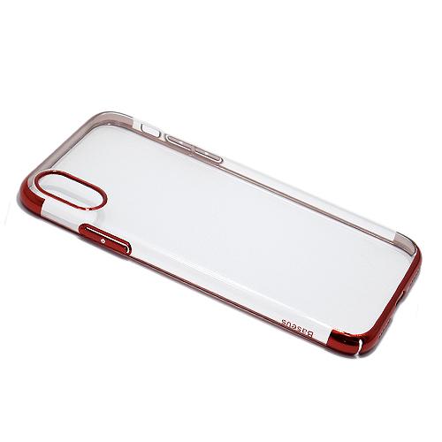 iPhone X Baseus Glitter silikonska futrola (Red)
