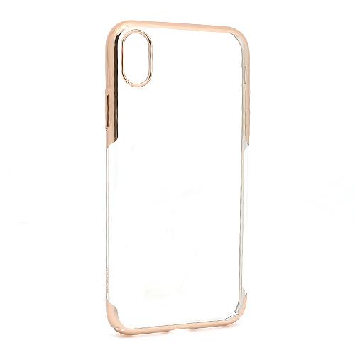 iPhone XR Baseus Glitter silikonska futrola (Gold)