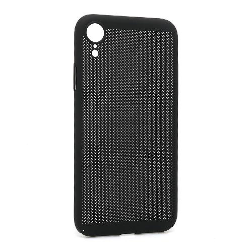 iPhone XR PVC Breath futrola (Black)