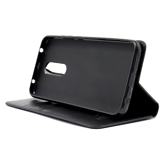 Xiaomi Redmi 8 futrola na preklop Hanman (Black) - Mgs mobil Niš