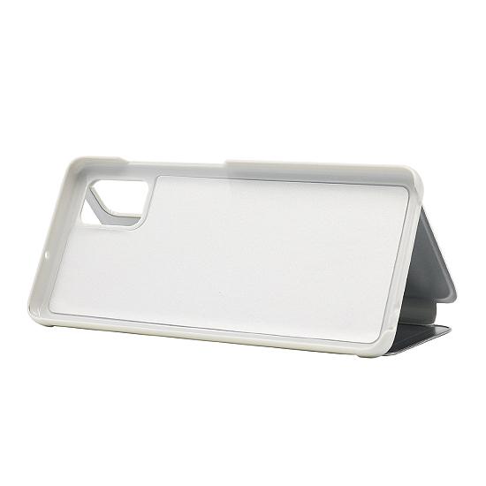 Samsung A71 futrola na preklop Clear View (Silver) - Mgs mobil Niš