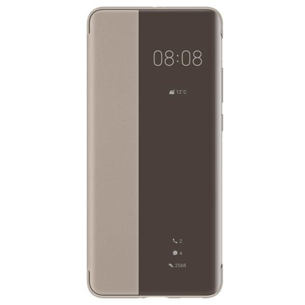 Huawei P40 Pro originalna preklopna futrola Smart view (Brown) - Mgs
