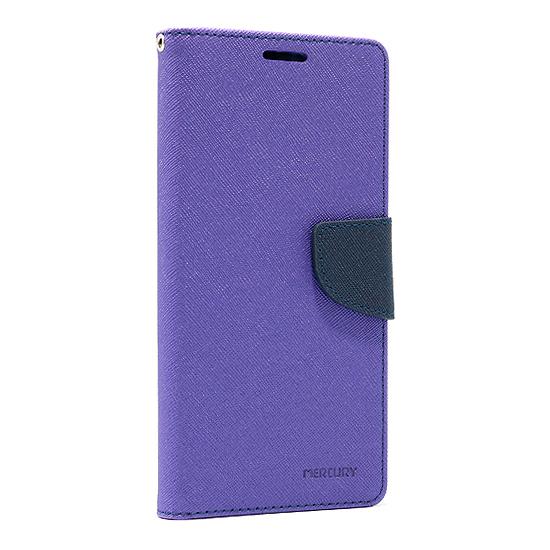 Alcatel 3X 2019 futrola na preklop Mercury (Purple) - Mgs mobil Niš