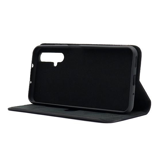 Huawei Nova 5T futrola na preklop Ihave Canvas (Black) - Mgs mobil Niš