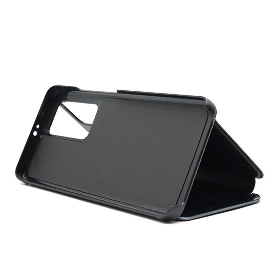 Huawei P40 Pro futrola na preklop Clear View (Black) - Mgs mobil Niš