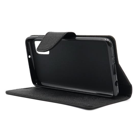 Samsung A41 futrola na preklop Mercury (Black) - Mgs mobil Niš