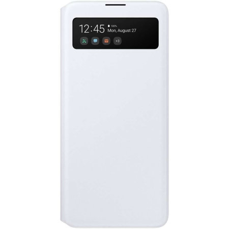 Samsung A71 S View originalna futrola (White) - Mgs Mobil Niš