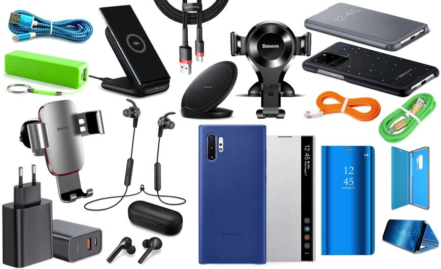MGS oprema za mobilne telefone futrole, kablovi punjači, power bank