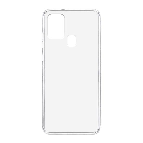 Samsung A21s silikonska futrola (Transparent) - Mgs mobil Niš