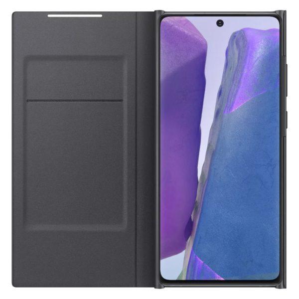 Samsung Note 20 LED View futrola (Black) - Mgs Mobil Niš