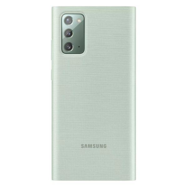 Samsung Note 20 LED View futrola (Green) - Mgs Mobil Niš