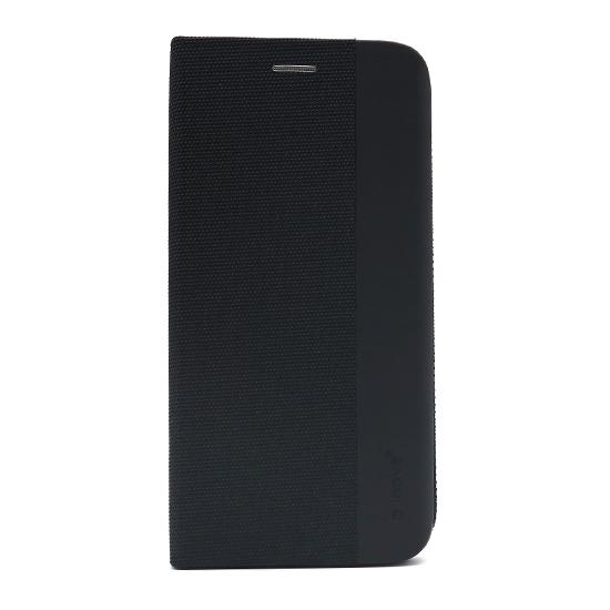 Honor 9A futrola na preklop Ihave Canvas (Black) - Mgs mobil Niš