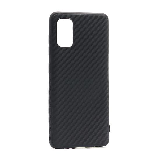 Samsung A31 silikonska futrola Carbon Light (Black) - Mgs mobil Niš