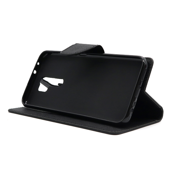 Xiaomi Redmi 9A futrola na preklop Mercury (Black) - Mgs mobil Niš
